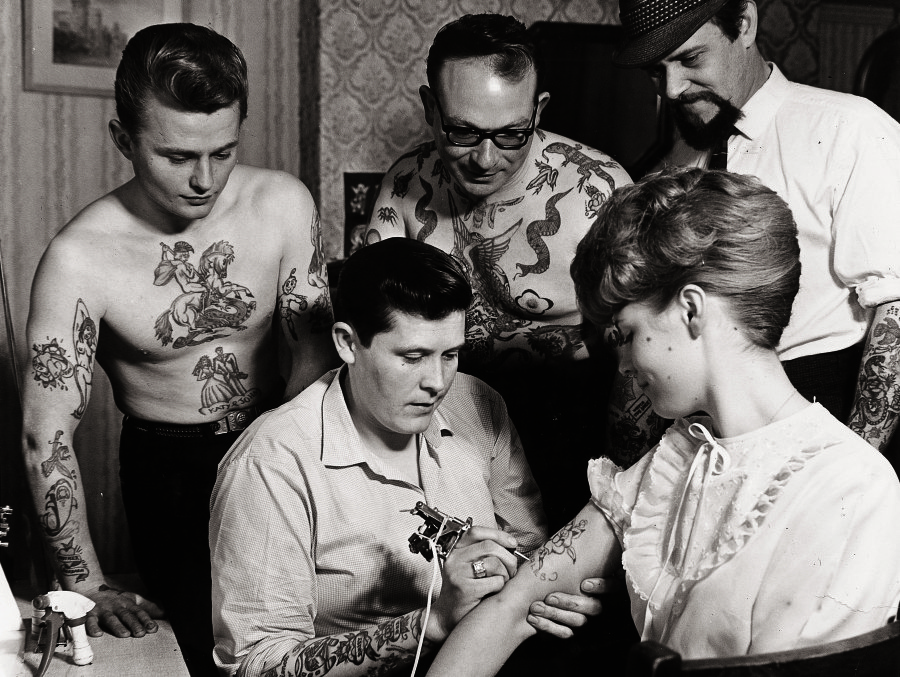 The Gorgeous History Of Tattoos From 1900 To Present