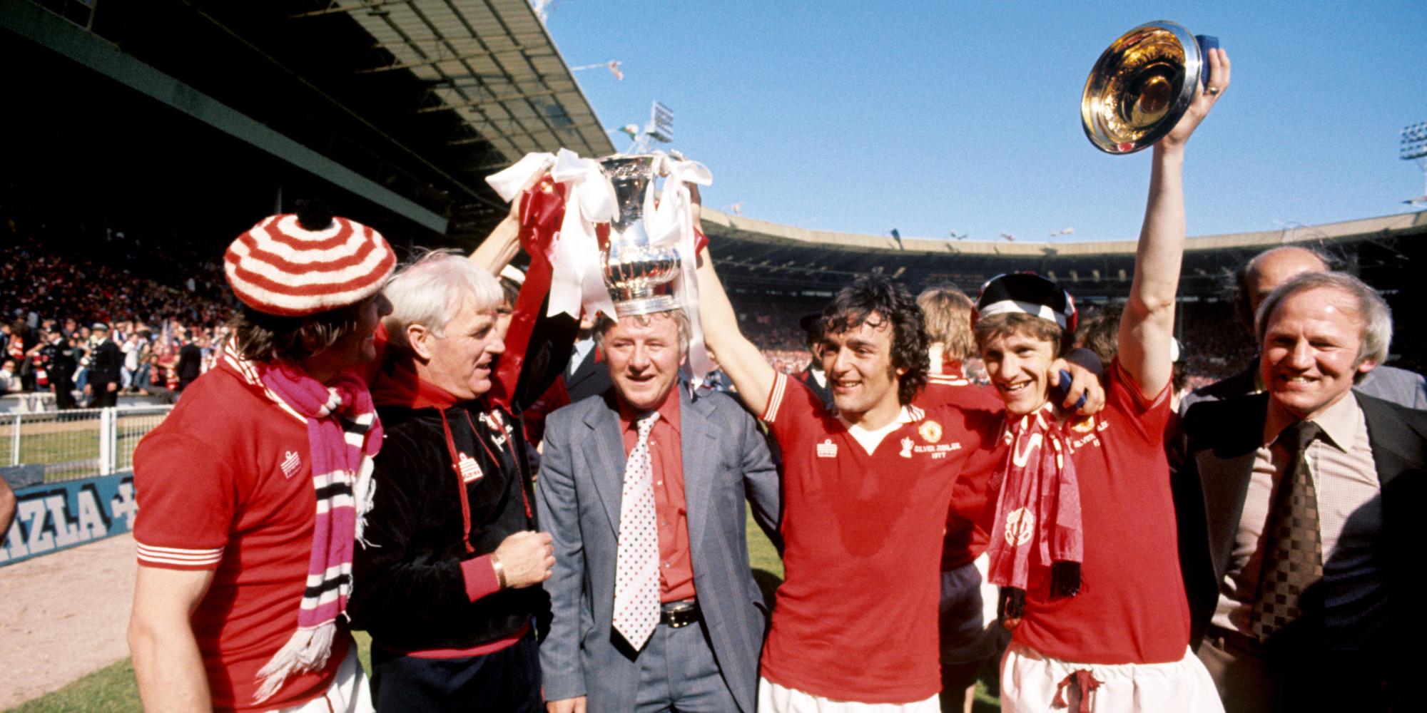 Resultado de imagem para manchester united  final cup 1977