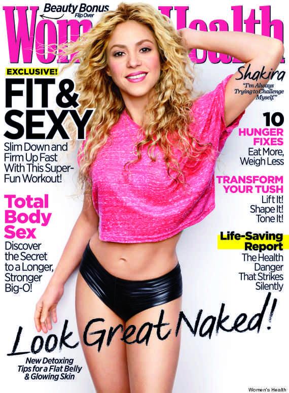shakira womens health portada