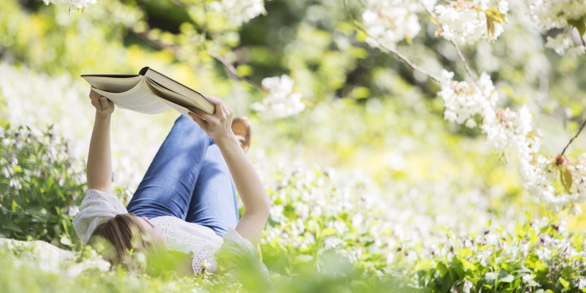 Image result for reading in the spring
