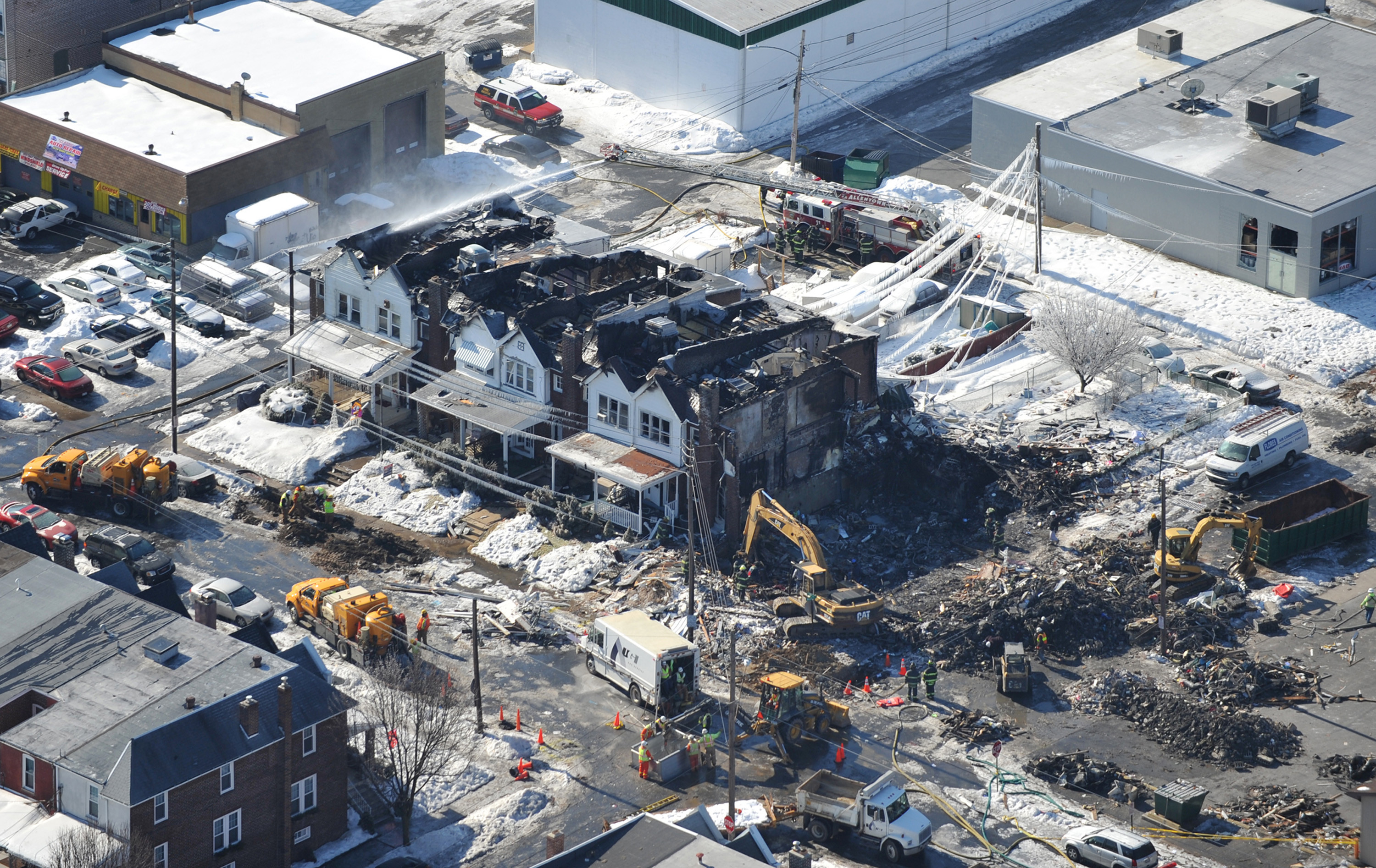 allentown gas explosion