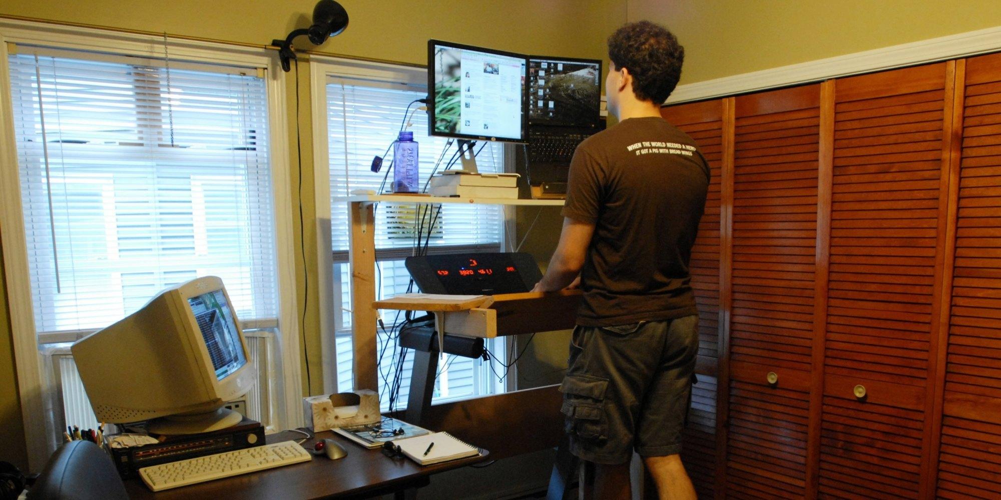 Treadmill Desks Burn Calories And Boost Work Performance