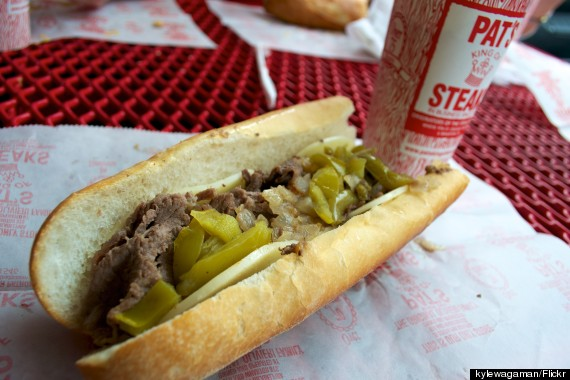 philly cheesesteak pats