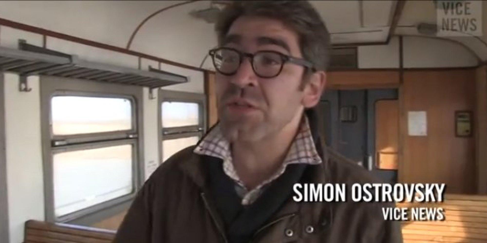 Vice Reporter Simon Ostrovsky Being Held In Eastern Ukraine | HuffPost