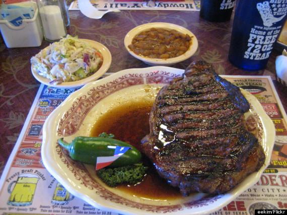 Texan Kitchen Menu
