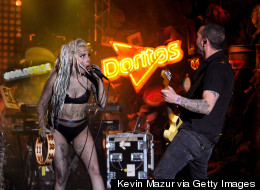 WATCH: Lady Gaga Deliver A Sick Performance (Literally!)