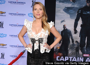 Pregnant Scarlett Johansson Shows Off Baby Bump