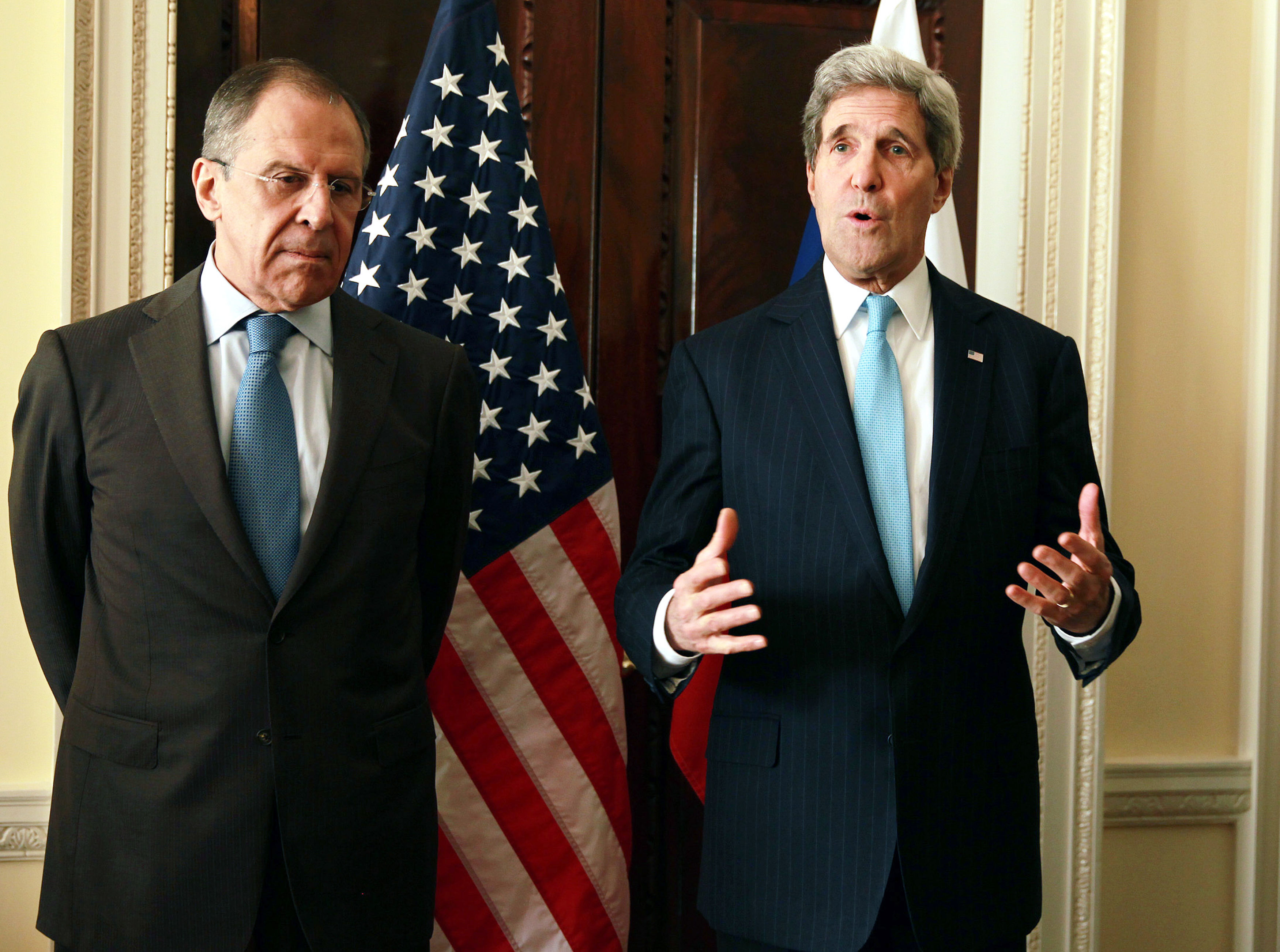 Original Kerry Meets With Russian Counterpart