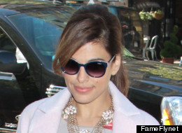 We're Not Sure What To Think About Eva Mendes' Floral Jumpsuit