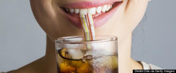 woman straw