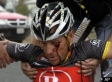 Lance Armstrong CRASH (PHOTOS)
