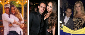 Marc Anthony Sus Novias