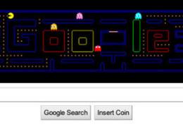 Pacman Google Logo