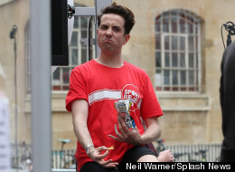 Nick Kicks Off Sport Relief Cycling Challenge