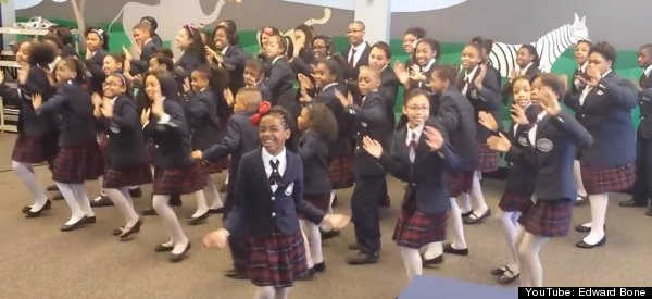 School Choir's Cover Of Pharrell's 'Happy' Will Make Your Whole Week Better