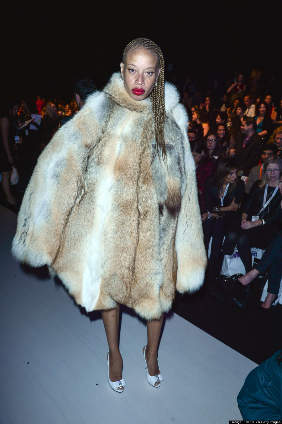 stacey mckenzie toronto fashion week