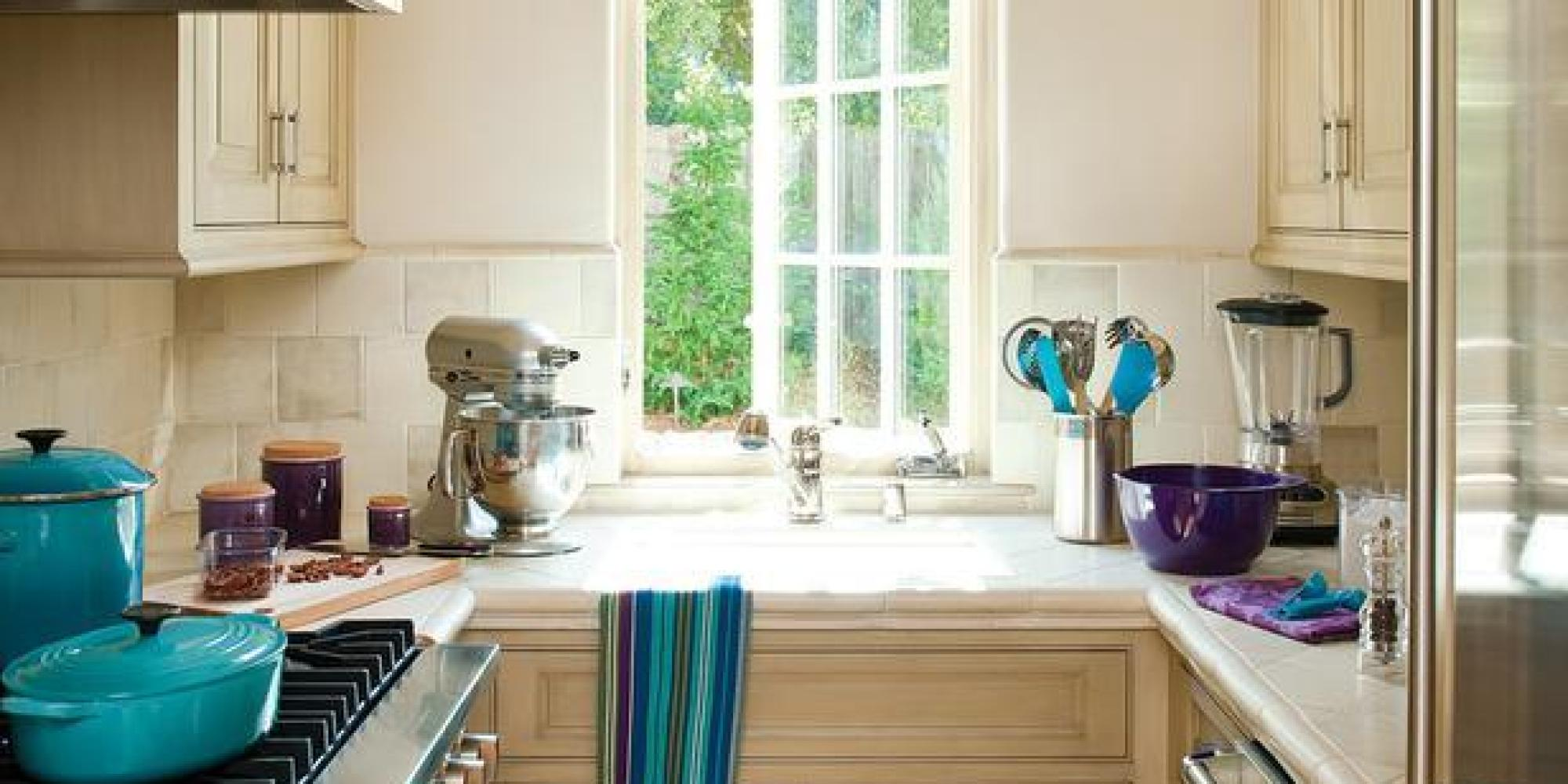 All the small kitchen inspiration you ever needed huffpost for Kitchen decor inspiration
