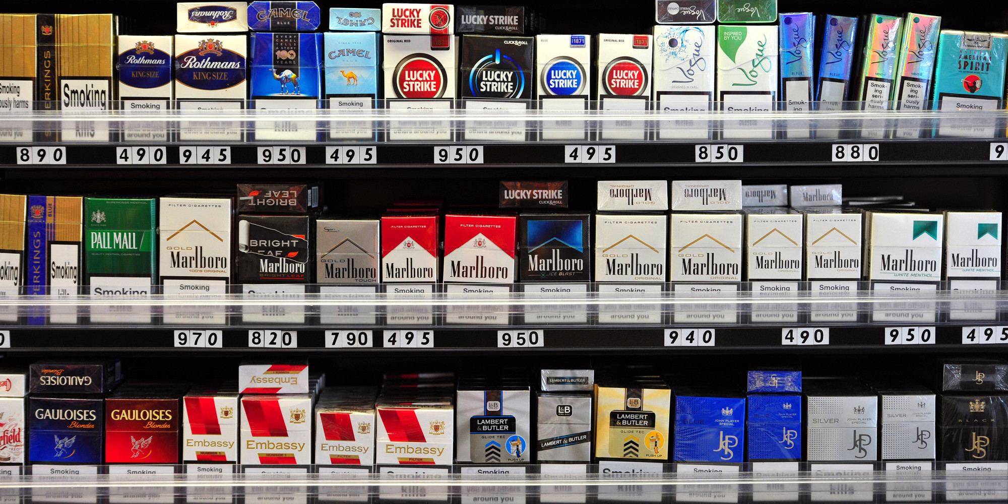 Cigarettes In Brightly-Coloured Packaging Seen As More Harmful