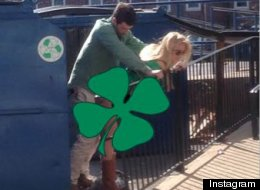 Couple Caught Getting Down Near Dumpsters (NSFW VIDEO)