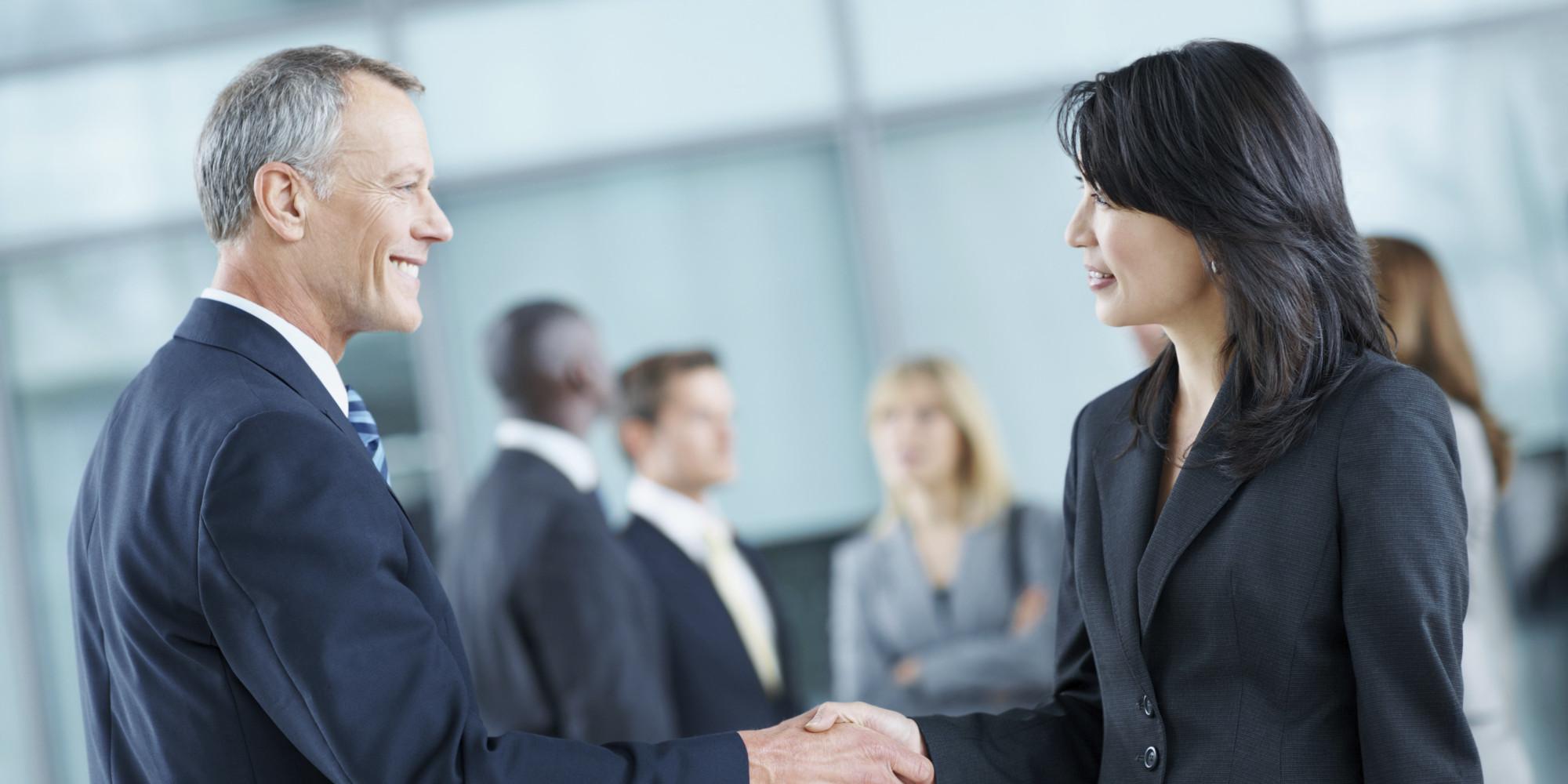Business Success Partnership Huffpost