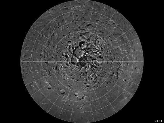 interactive map of moon