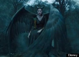 FIRST LOOK: Angelina Takes Flight As Maleficent