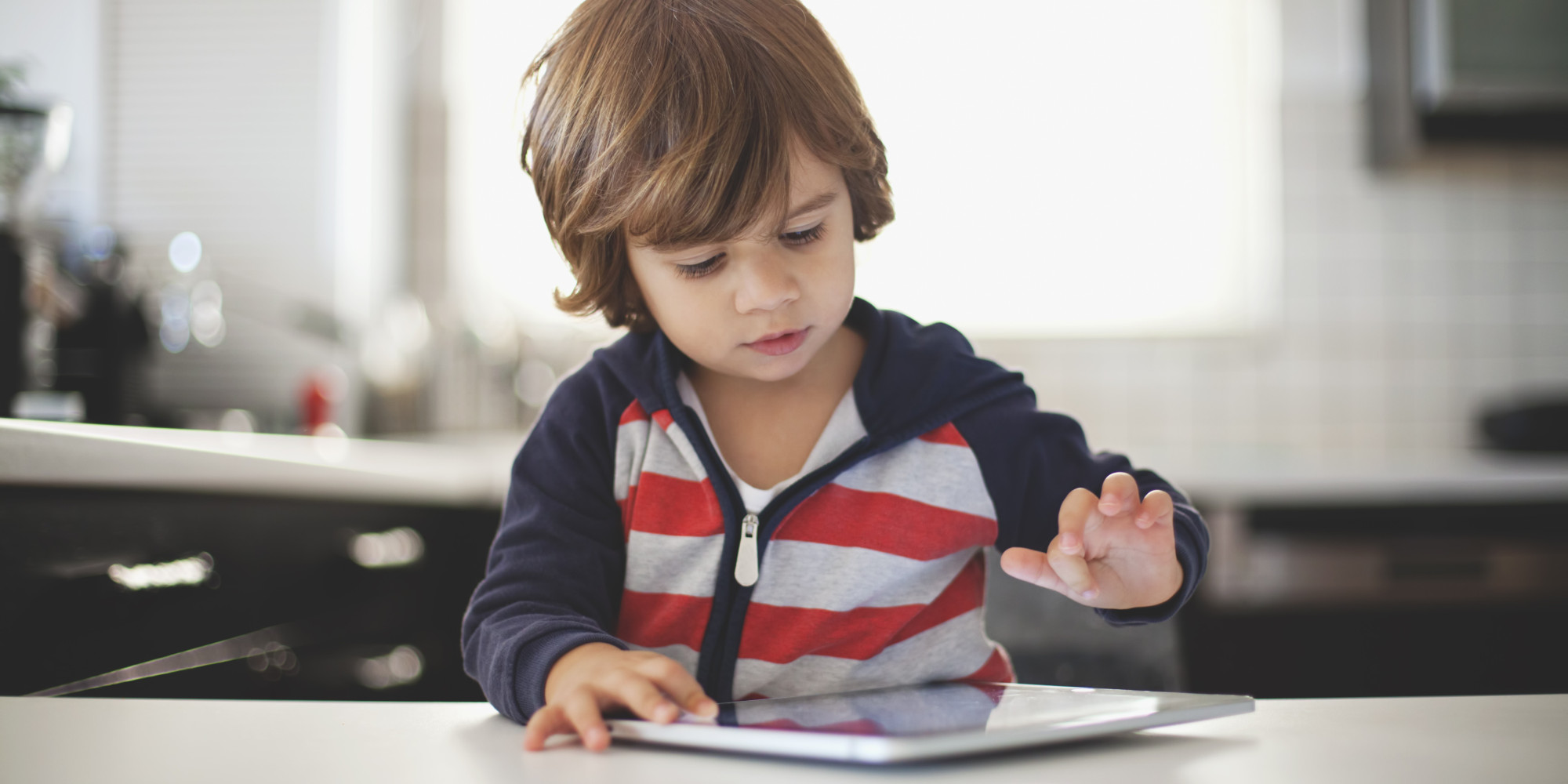 ipad kid screen child children ipads study well being using technology devices pads