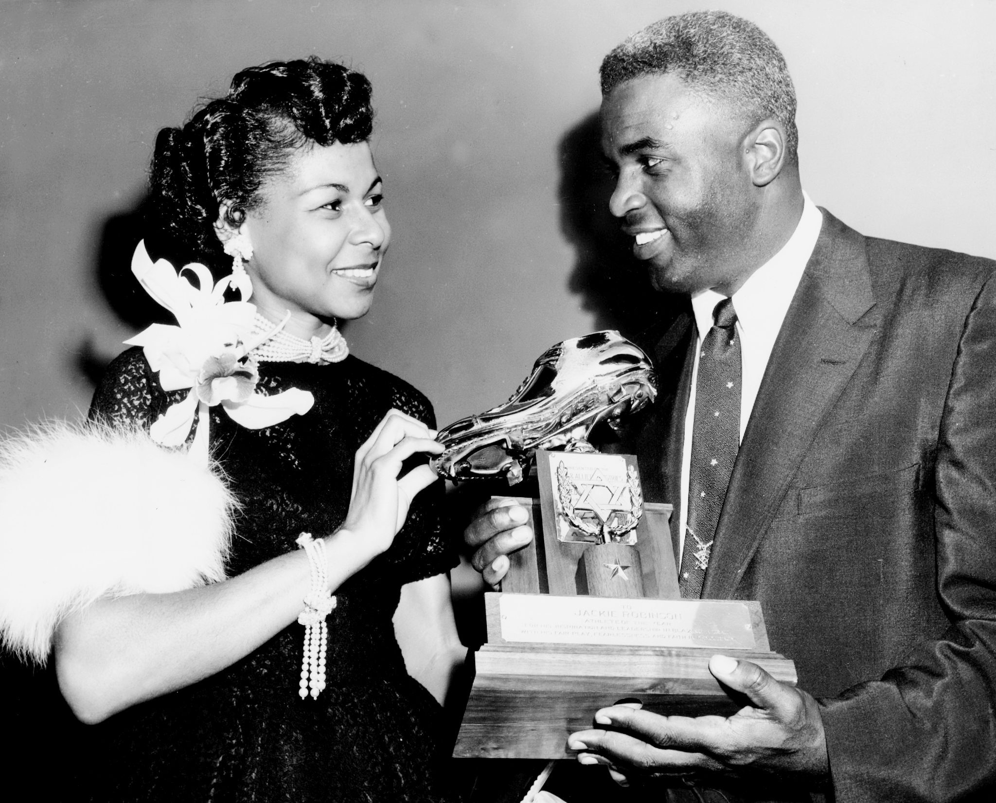 jackie robinson and wife