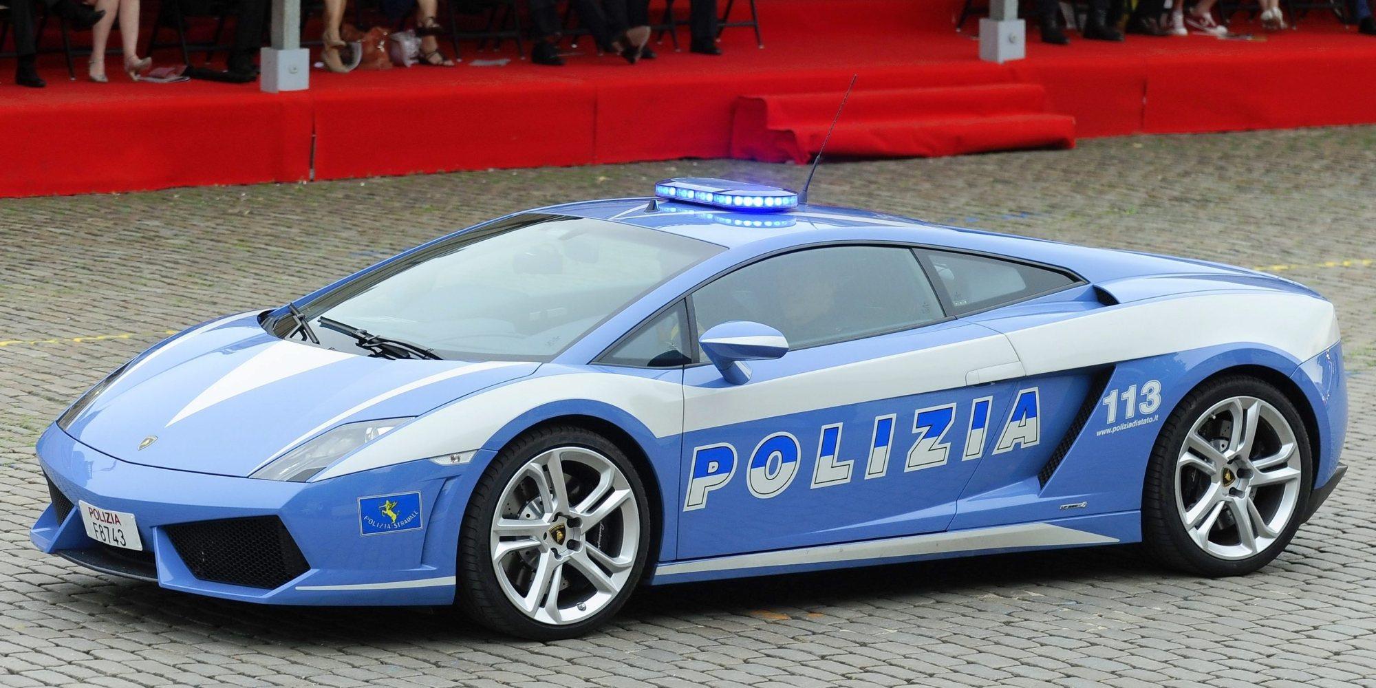 Lamborghini Police Car Nomana Bakes