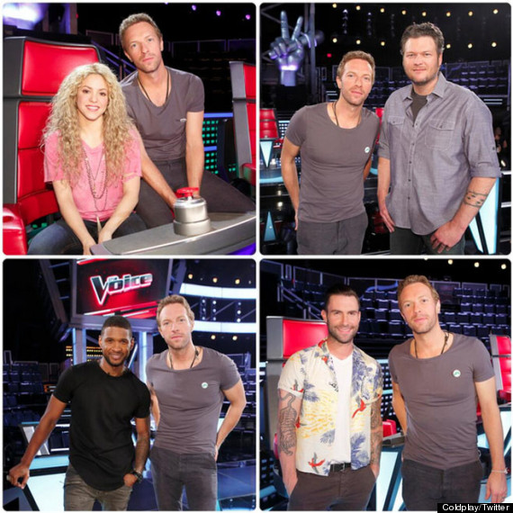 chris martin the voice