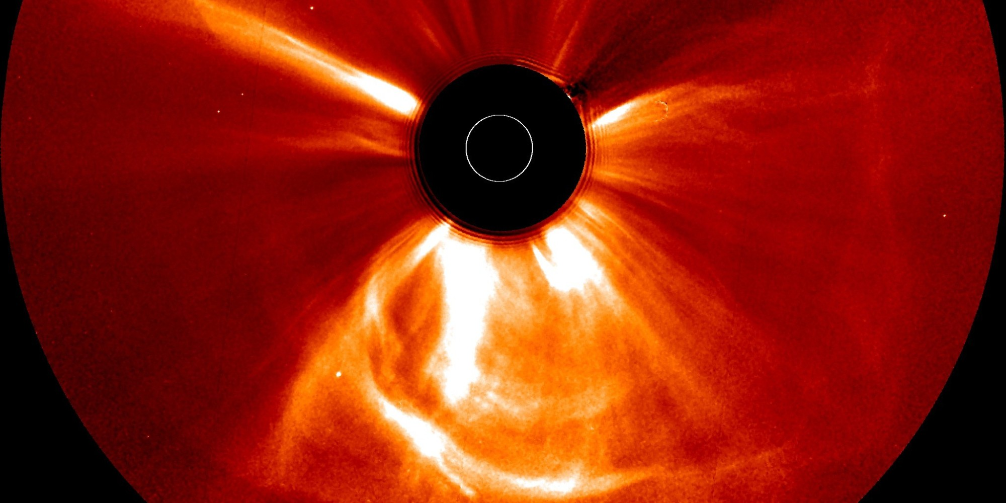 Solar 'Superstorm' In 2012 Linked To Collision Of Vast Sun ...