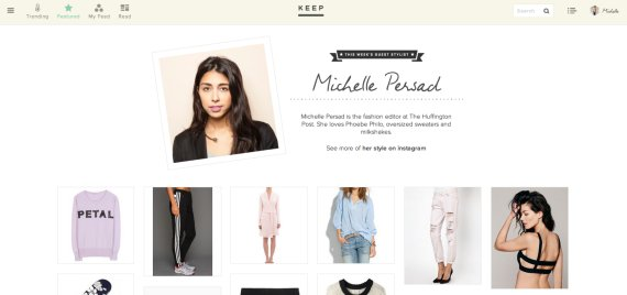 Another Amazing Feature Of Keep They Make Instagram Shoppable The Site Has Gathered Some Most Stylish Users And Then Locates