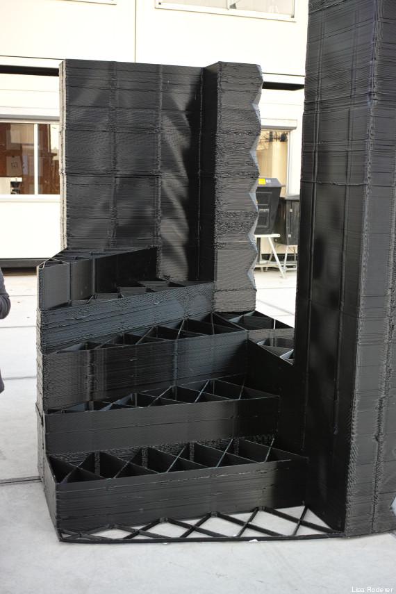 das erste haus aus dem 3d drucker entsteht an einem kanal in amsterdam. Black Bedroom Furniture Sets. Home Design Ideas