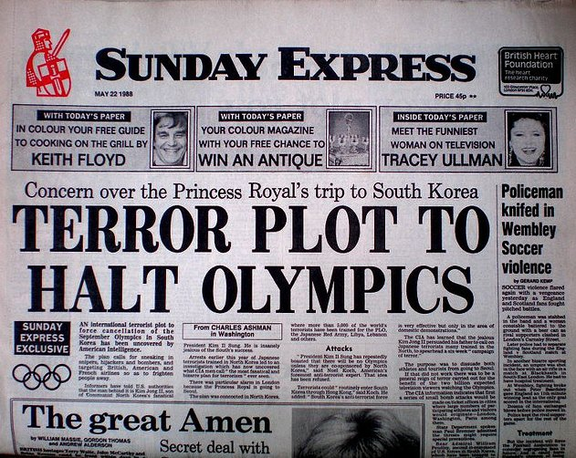 olympics terror