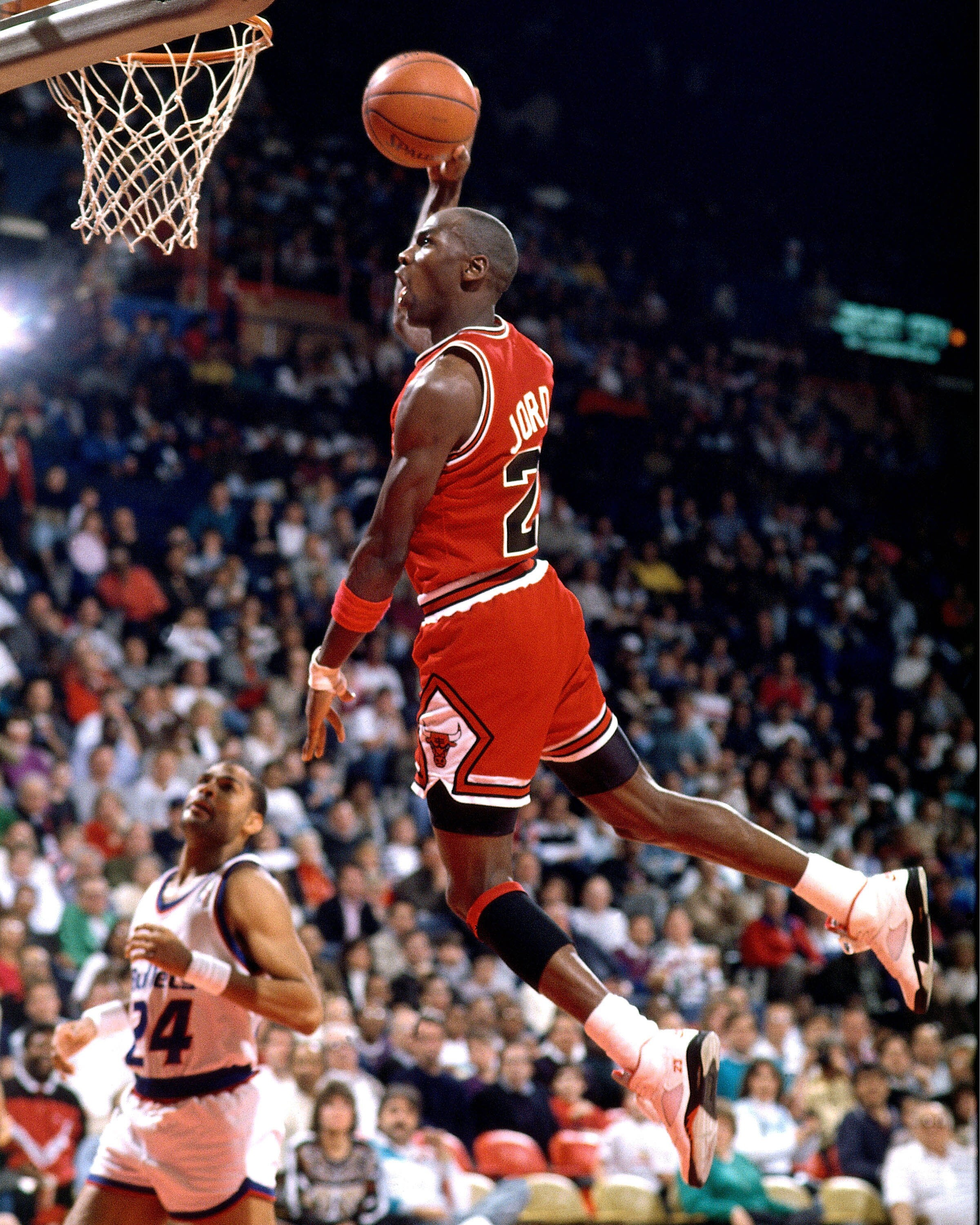 the early life and sports achievements of nba star michael jeffrey jordan