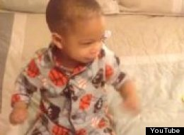 Happy Baby Wakes Up To Bruno Mars With The Perfect Reaction