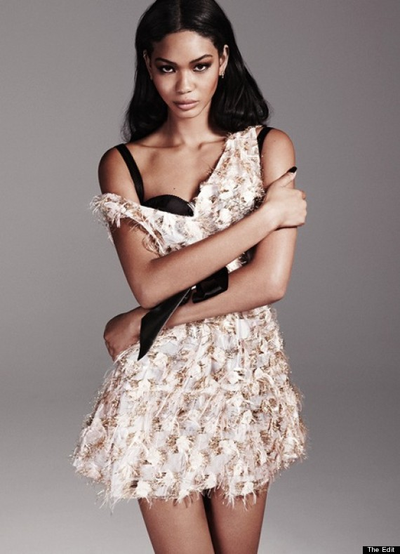 chanel iman the edit