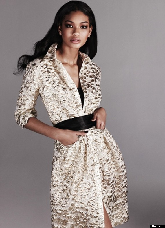 Chanel Iman Strikes A Pose For 'The Edit' And Speaks Out ...