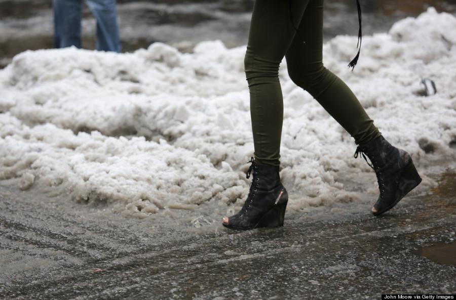 rain boots snow