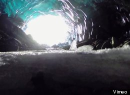 These Alaskan Ice Caves May Be Melting, But There's Still Time To Marvel