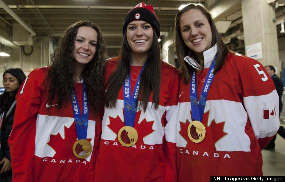 canada hockey gold medal