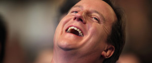 Laughs David Cameron