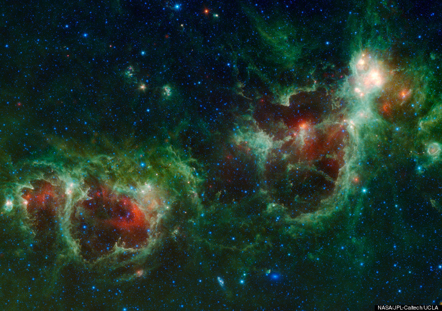 Cassiopeia 'Heart And Soul Nebulae' Captured By NASA ...