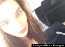 Helen Flanagan Posts A 'No Makeup Selfie'