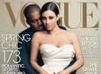 Kim Kardashian Covers Vogue With Kanye West (And The Internet Almost Explodes)