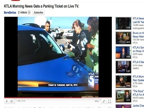 Ktla Parking Ticket