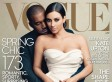 The Best Twitter Reactions To Kim Kardashian And Kanye West's Vogue cover