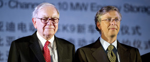 BILL GATES WARREN BUFFET