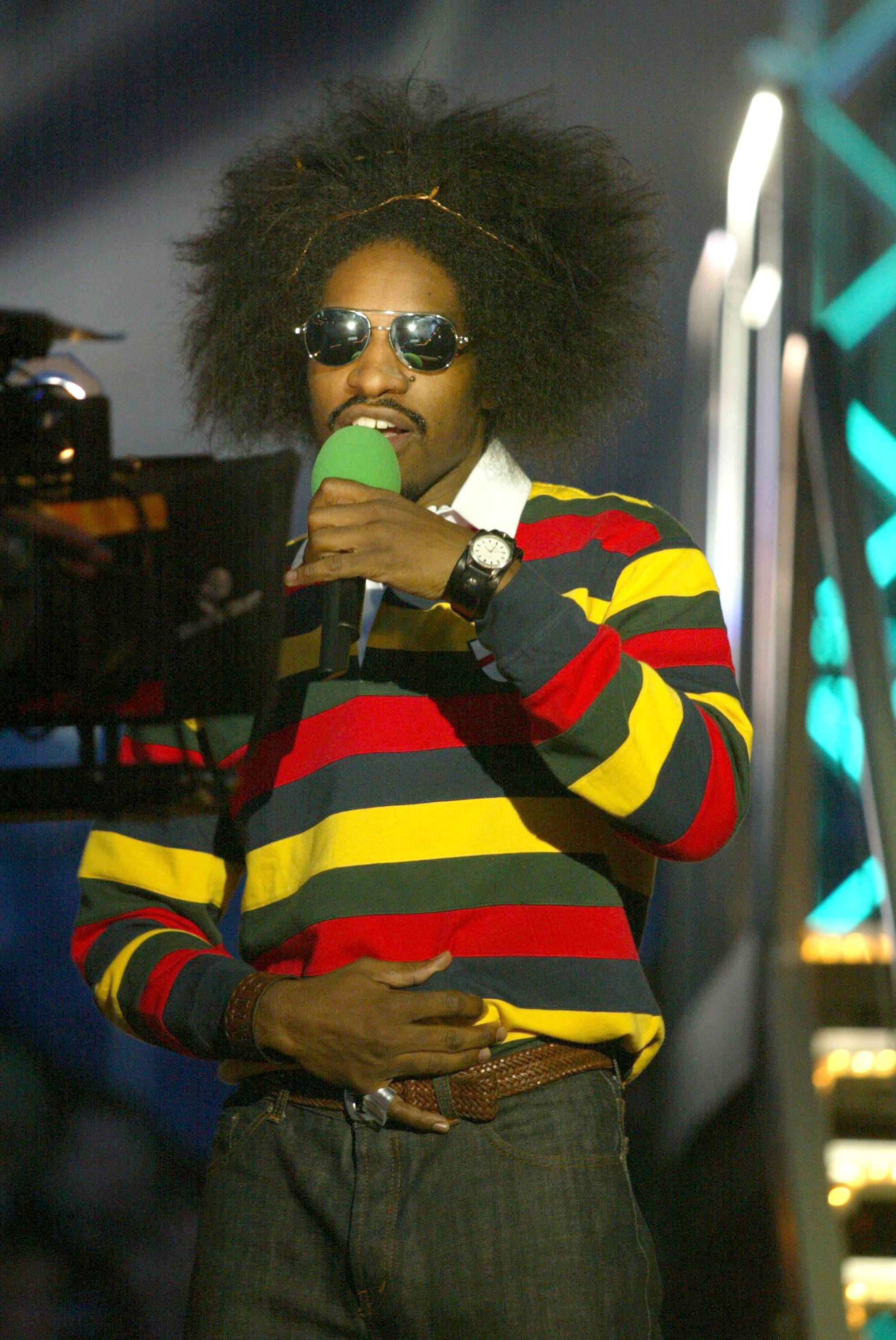 andre 3000 afro