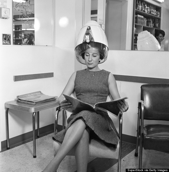 beauty parlor in 1960s